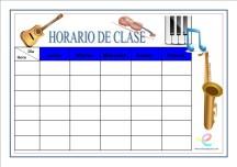 Horarios de clase 07