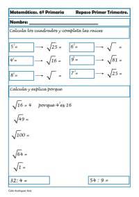 ejercicios matematicas sexto primaria 12