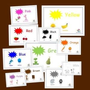 los colores en ingles y su pronunciacion