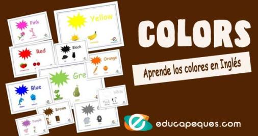 los colores en ingles, colors