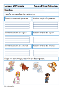 ejercicios lengua segundo primaria 05