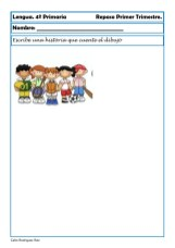 fichas de lengua cuarto primaria16
