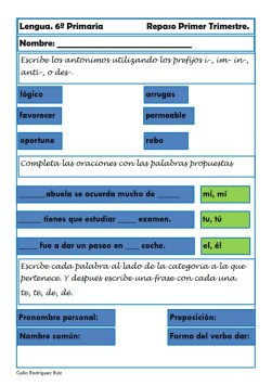 fichas de lengua sexto primaria 06