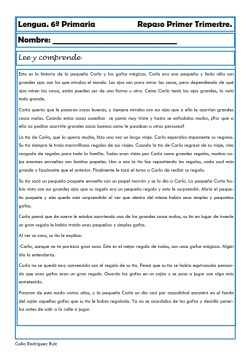 fichas de lengua sexto primaria 07