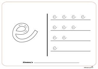 grafo vocales E