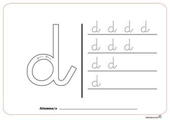 grafo consonantes d