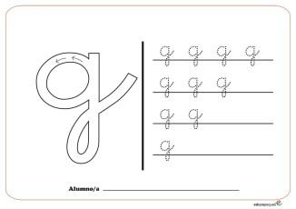 grafo consonantes g