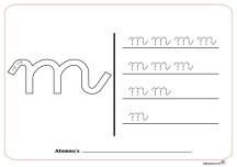 grafo consonantes m
