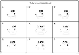 fichas de multiplicación 11