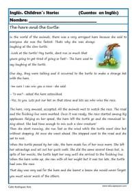 comprensión lectora inlges cuentos 03