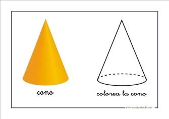 figuras geometricas cono