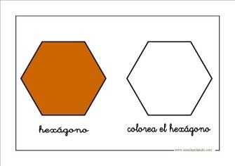 figuras geometricas hexagono