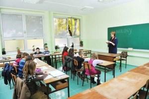 Actitud de los niños en clase