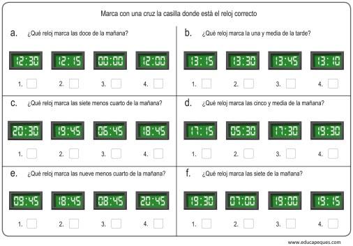 la hora relojes digitales 10