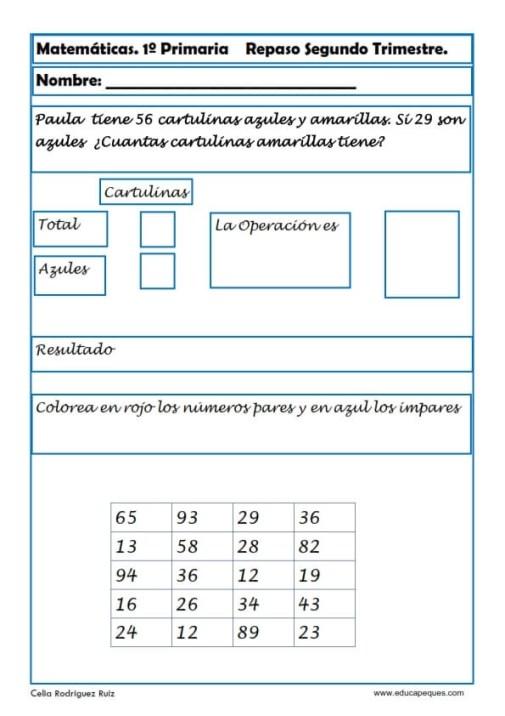 matemáticas segundo primaria 19