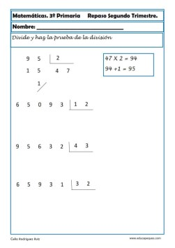 matemáticas tercero primaria 24
