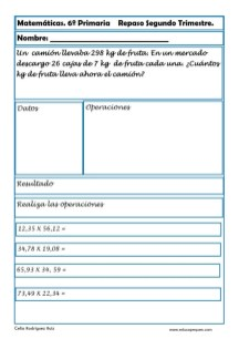 matemáticas sexto primaria 05