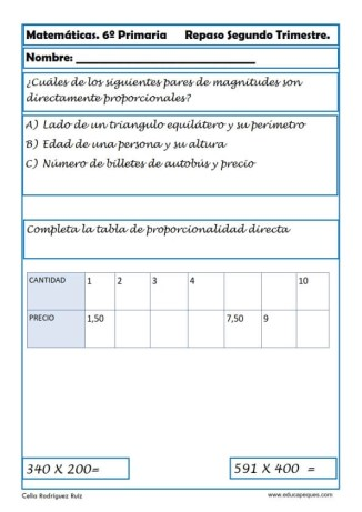 matemáticas sexto primaria 26