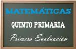 Matemáticas Quinto Primaria 1