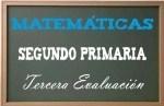 Matemáticas Segundo Primaria 3