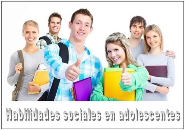 habilidades sociales en los adolescentes