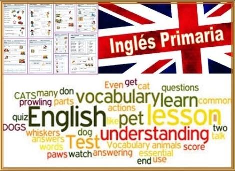 Fichas Inglés Primero Primaria
