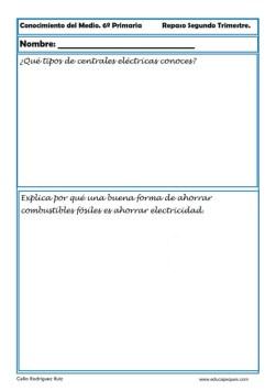 conocimiento del medio primaria 09