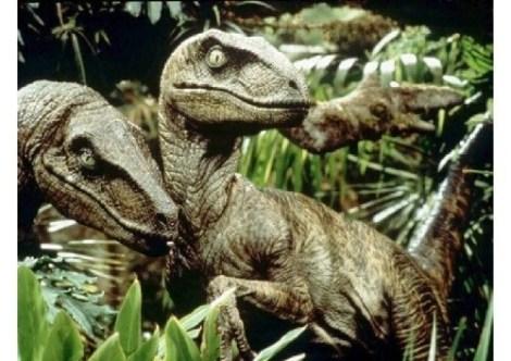 El final del paseo con los dinosaurios