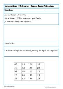matematicas primero primaria 19