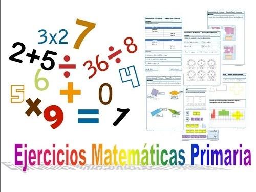 Matematicas Quinto primaria