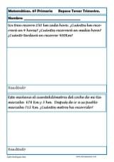 fichas matemáticas sexto primaria 11