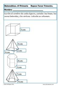 fichas matemáticas sexto primaria 21