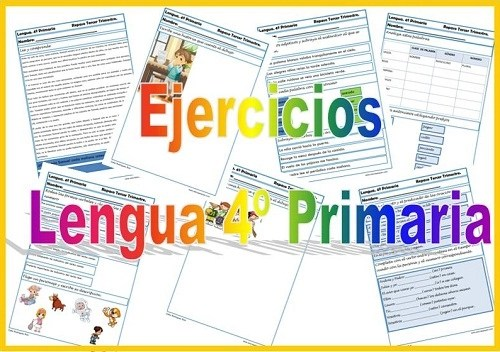 lengua cuarto primaria