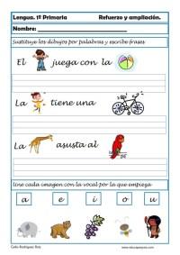 aprender repasar lengua primaria 01