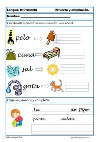 aprender repasar lengua primaria 05