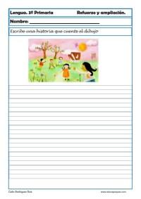 aprender repasar lengua primaria 11