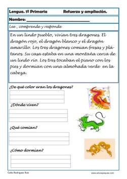 aprender repasar lengua primaria 17