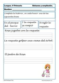 aprender repasar lengua primaria 20