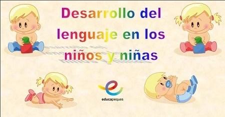 desarrollo del lenguaje en niños