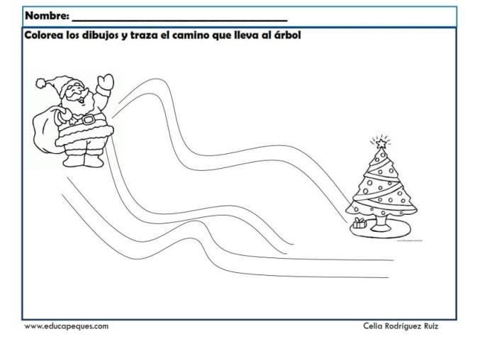 fichas actividades navidad 01