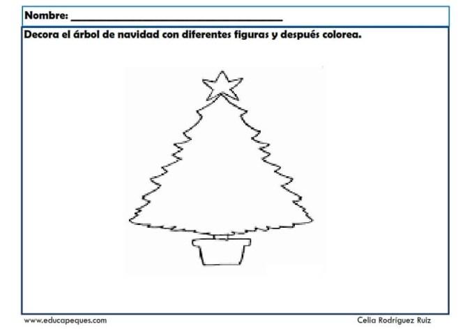 fichas actividades navidad 09