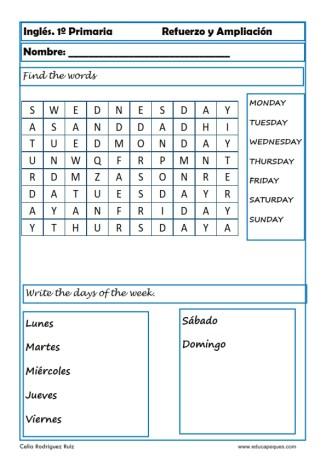 Inglés primaria 13