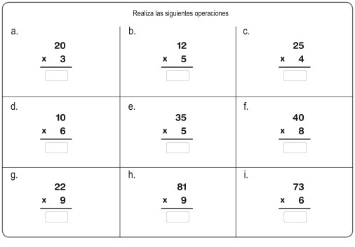 multiplicación 10