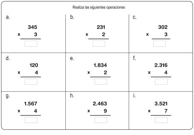 multiplicación 12