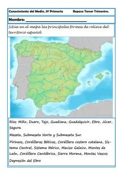 Fichas Conocimiento del medio sexto primaria 3 trimestre 05