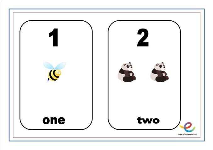 números en inglés 01