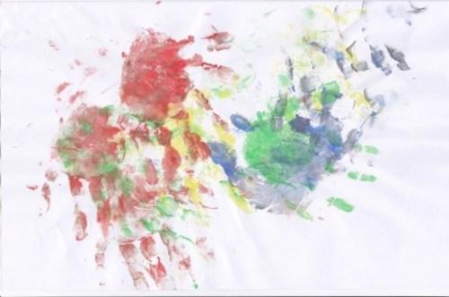 garabateo, dibujo infantil