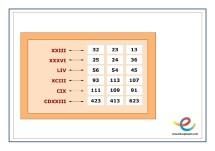 como se escriben los numeros romanos