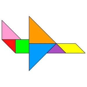 tangram avion