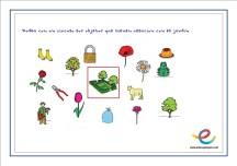 Ficha habilidades de razonamiento lógico y matemático